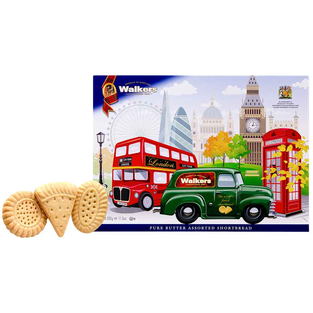 Walkers Shortbread in London Box