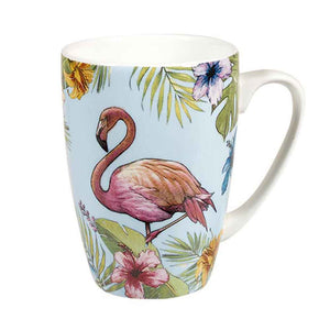 "Churchill ""Reignforest"" Mug: Flamingo"