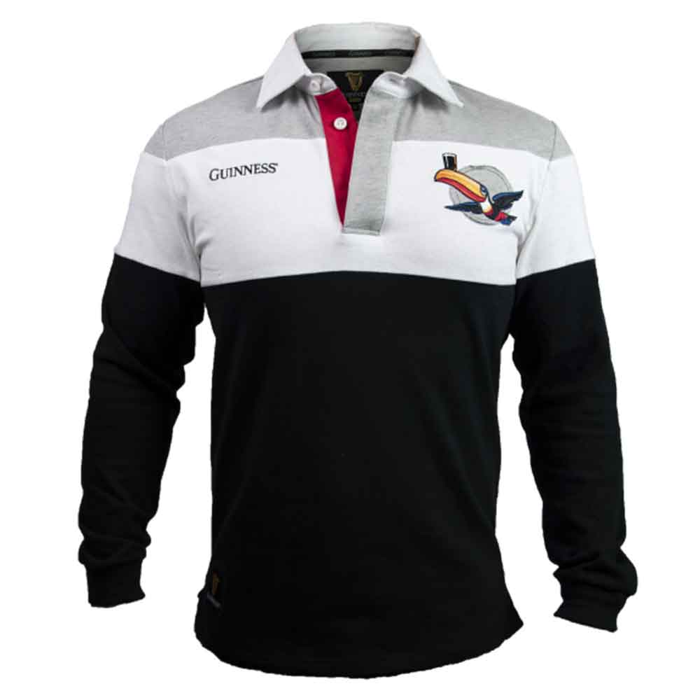 Guinness Striped Toucan Rugby Jersey