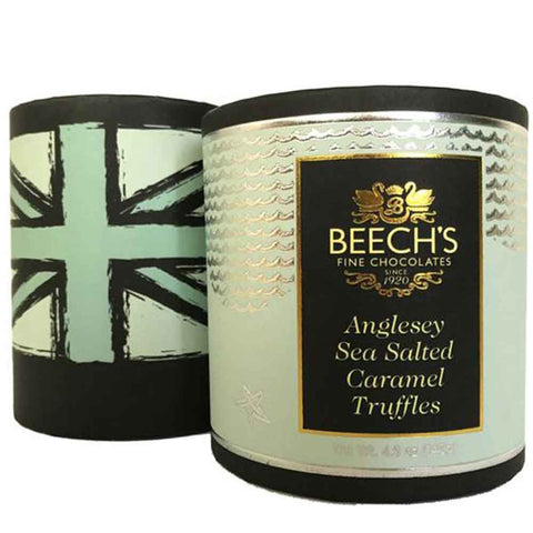 Beech's Luxury Chocolate Truffles: Anglesea Sea Salted Caramel