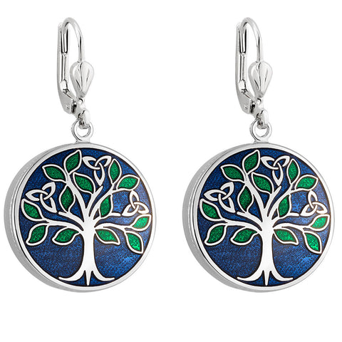 Book of Kells Tree of Life Earrings