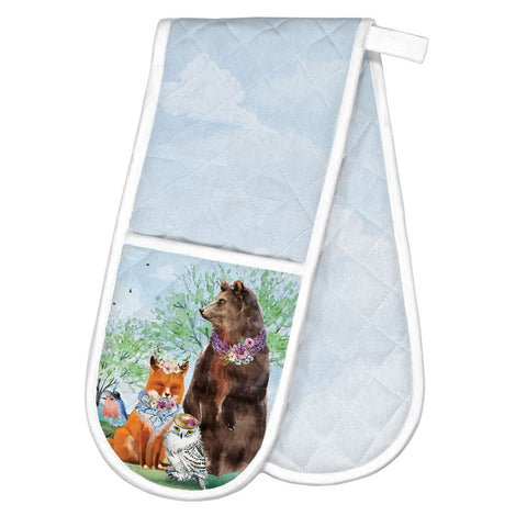 Garden Party Double Oven Glove