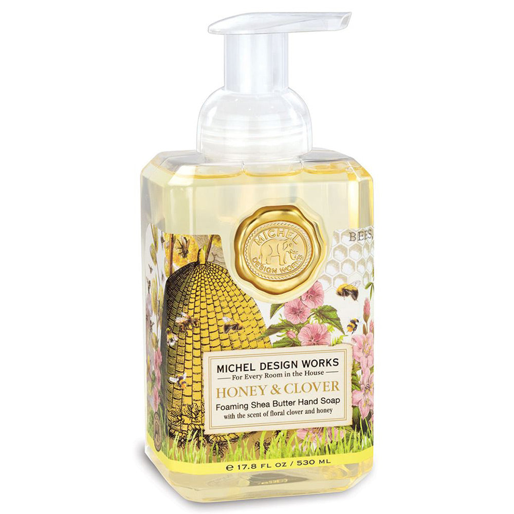 Honey & Clover Foaming Hand Soap