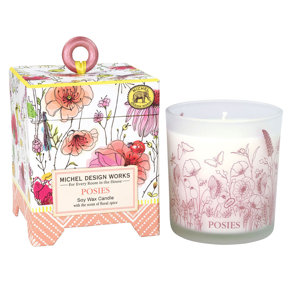 Posies Soy Wax Candle