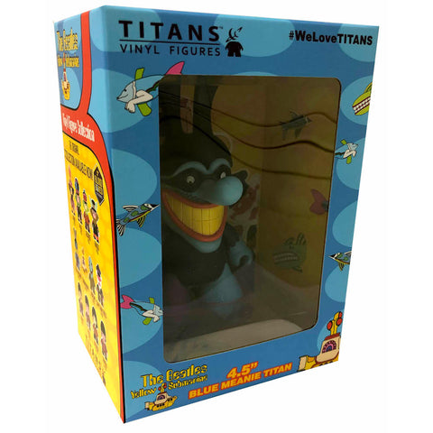 "The Beatles TITANS: 4.5"" Yellow Submarine Blue Meanie"