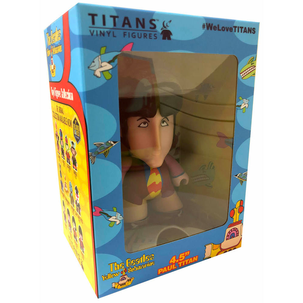 "The Beatles TITANS: 4.5"" Yellow Submarine Paul"