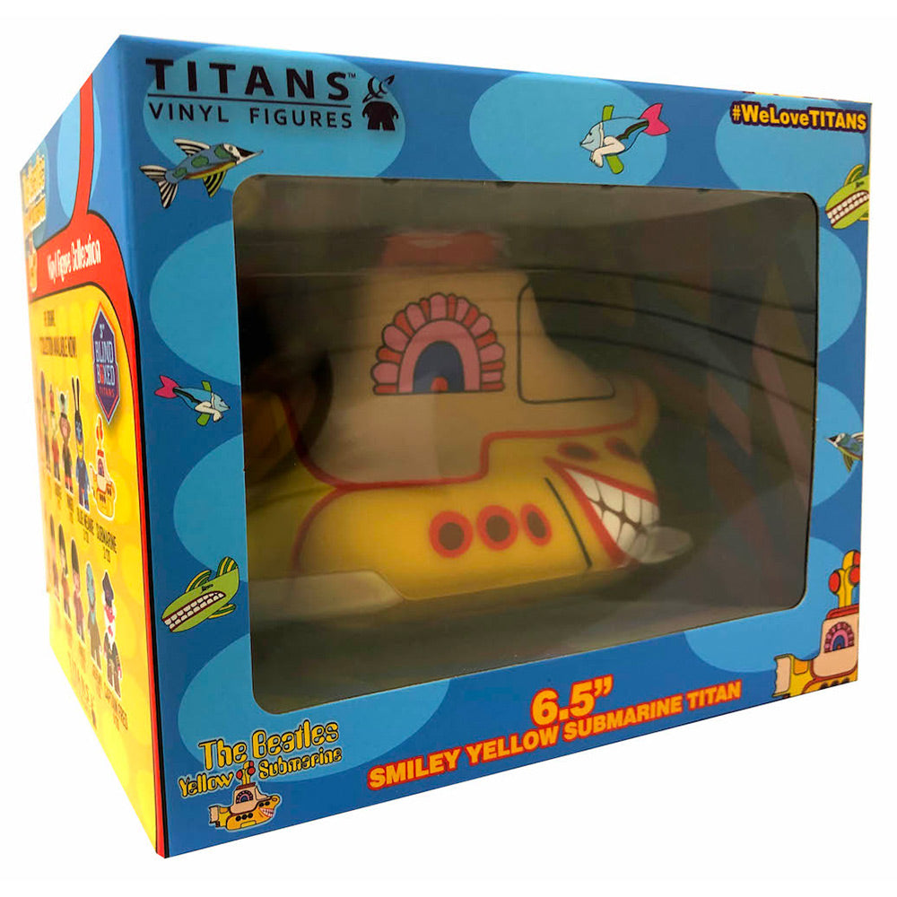 "The Beatles TITANS: 6.5"" Smiley Yellow Submarine"