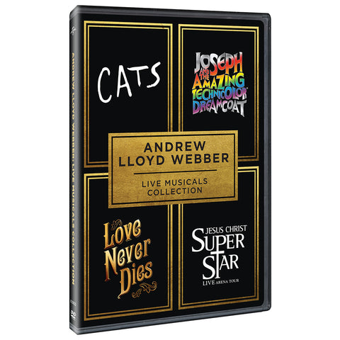 Andrew Lloyd Webber Live Musicals Collection