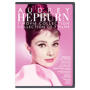Audrey Hepburn 7 Movie Collection