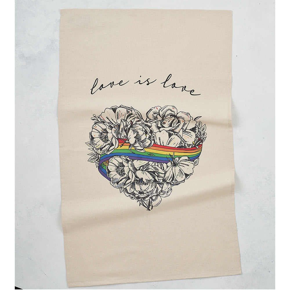 Love is Love Tea Towel