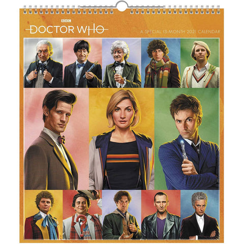 Doctor Who: 2021 Special Edition Wall Calendar