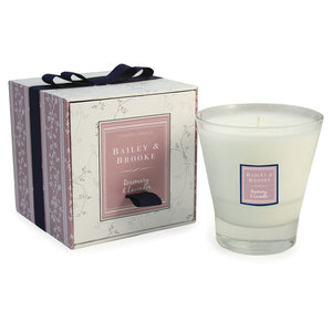 Rosemary & Lavender Filled Tumbler Glass Candle