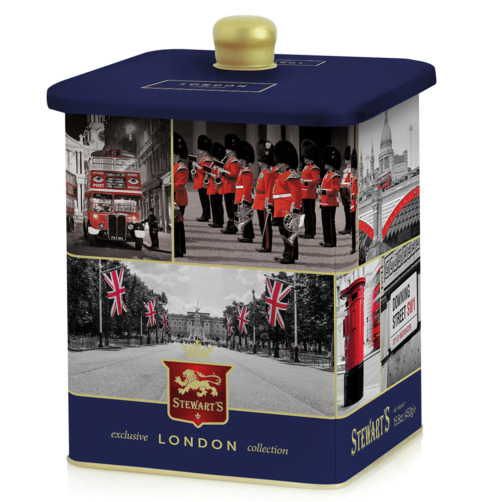 Stewart's Luxury Shortbread in London Tin