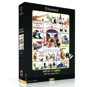 Who's Got the Guinness 1000-Piece Jigsaw Puzzle