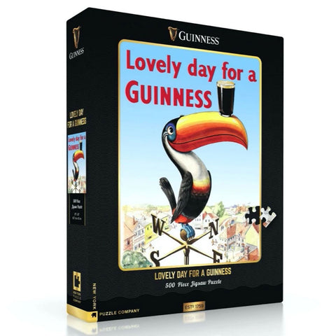 Lovely Day for a Guinness 500-Piece jigsaw Puzzle