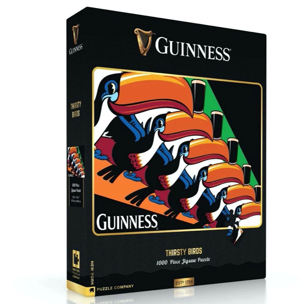 Guinness Thirsty Birds 1000-Piece jigsaw Puzzle