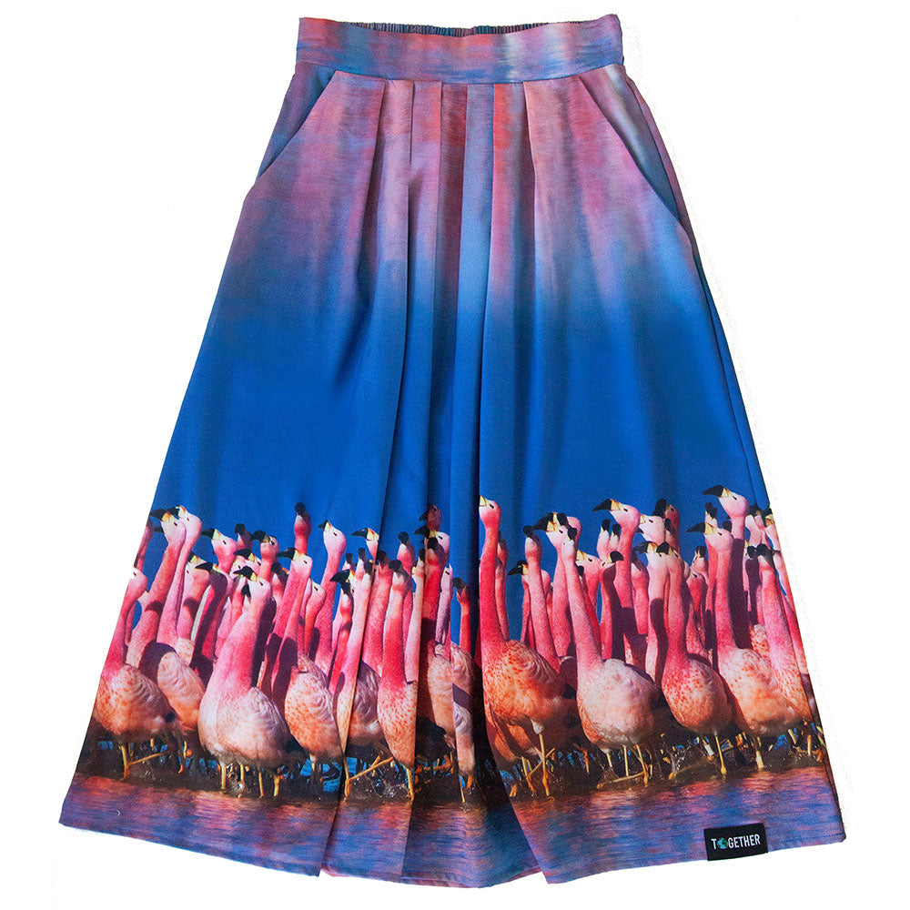 "BBC Earth: ""Flamingo"" Skirt"