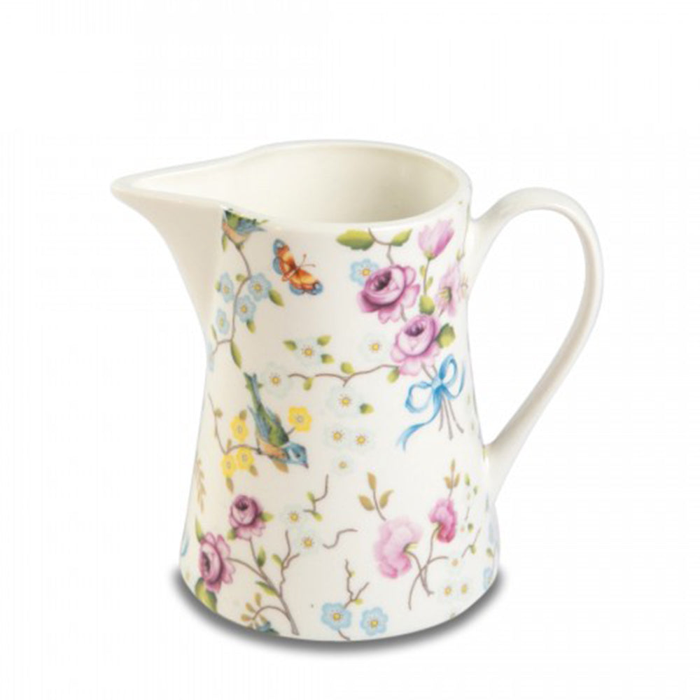 Birds and Blossoms Creamer