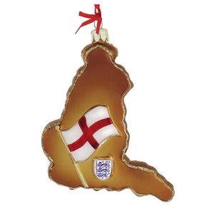 England Glass Ornament