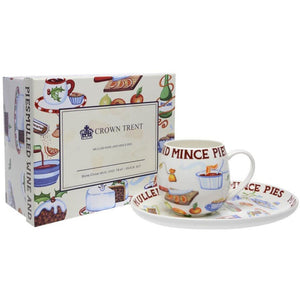 Holiday Mug and Tray Set