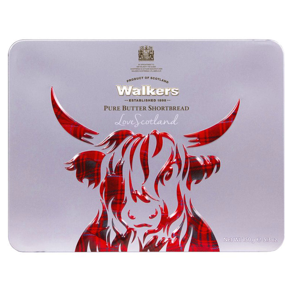 Walkers Shortbread and Highland Tin: Cow
