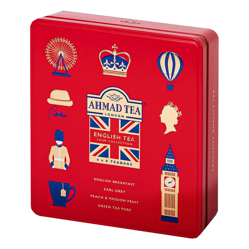 English Tea Collection and London Icon Tin: Red