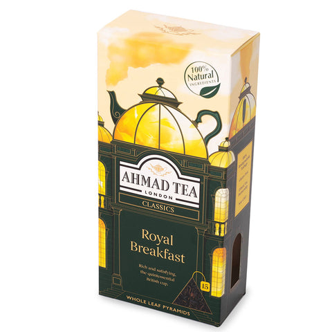 Luxury Whole-Leaf-Tea Pyramids: Royal Breakfast