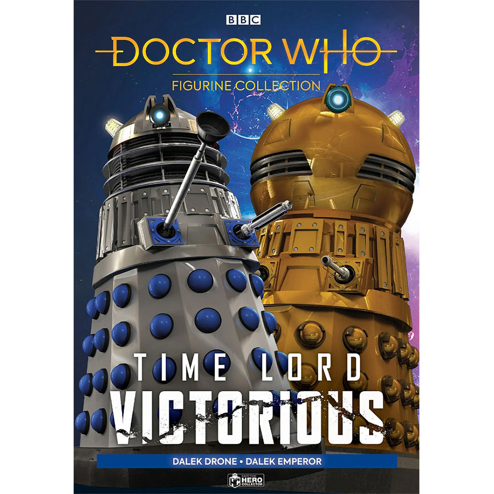 Doctor Who: Time Lord Victorious: Figurine Collection Magazine #1: Dalek Emperor & Drone