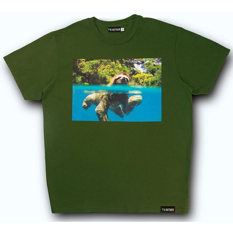"BBC Earth: ""Beneath the Surface"" T-Shirt: Sloth"
