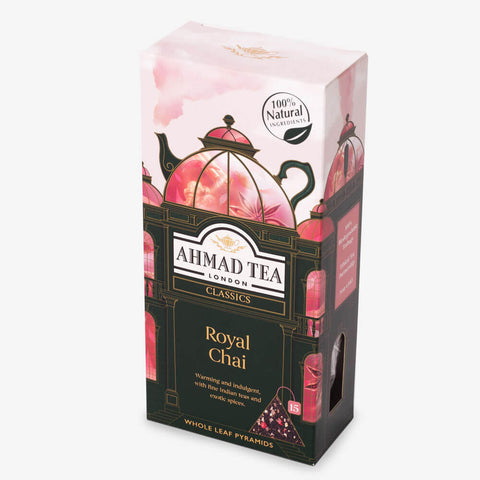 Luxury Whole-Leaf-Tea Pyramids: Royal Chai