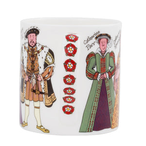 Henry VIII And His Six Wives Mug