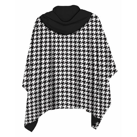 Houndstooth RainCape
