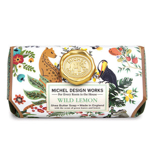 Magical Jungle Large Bath Soap Bar: Wild Lemon