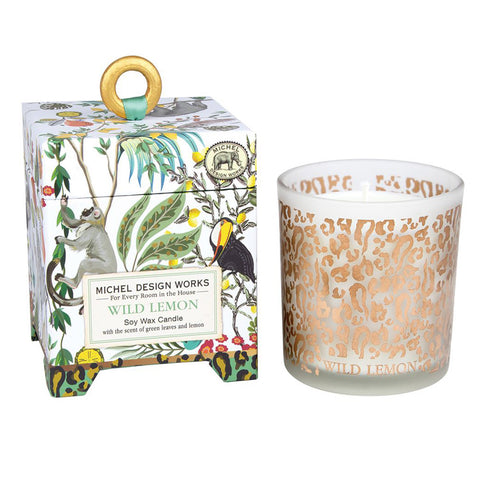 Magical Jungle Soy Wax Candle: Wild Lemon