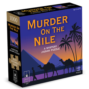 Murder Mystery Jigsaw Puzzle: Murder on the Nile