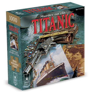 Murder Mystery Jigsaw Puzzle: Murder on the Titanic