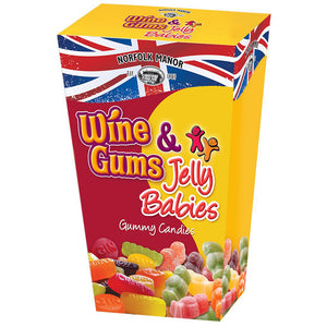 Norfolk Manor Wine Gums and Jelly Babies