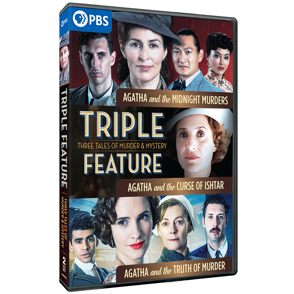Triple Feature: Three Tales of Murder and Mystery