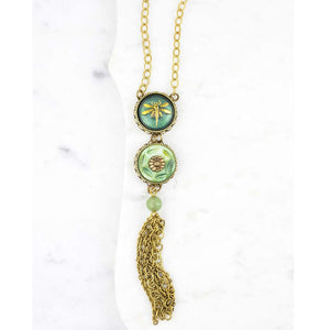 Art Nouveau Dragonfly Necklace