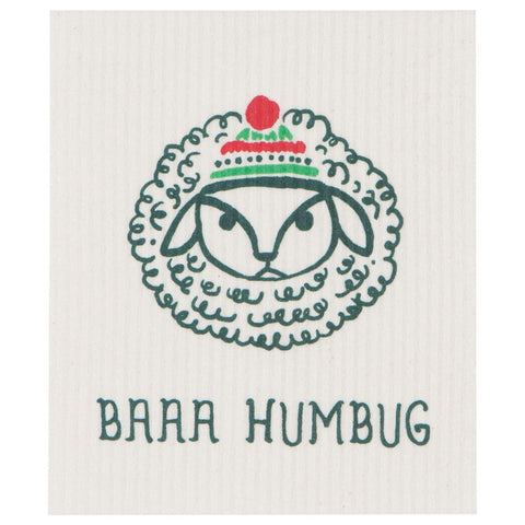 Baaa Humbug Swedish Dish Cloth