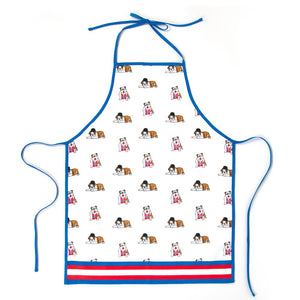 British Bulldog Apron