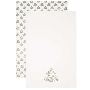 Celtic Knot Tea Towel Set