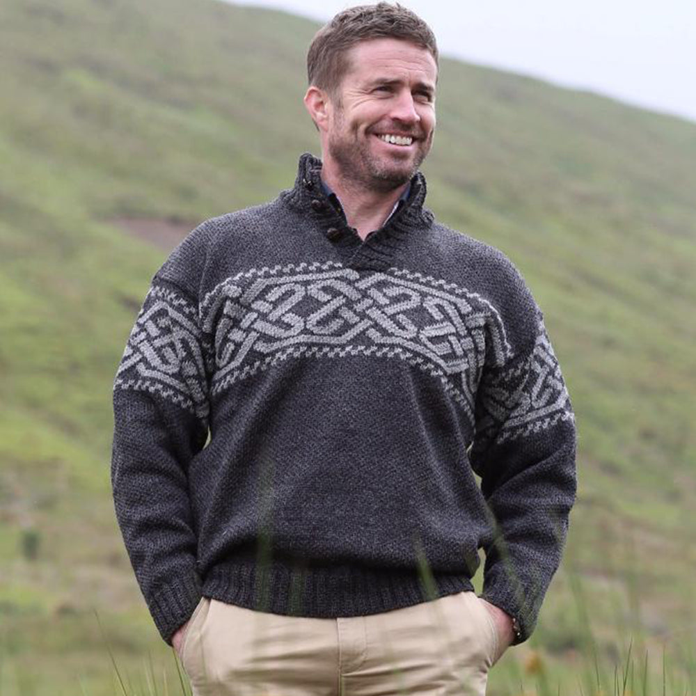 Celtic Knot Troyer Sweater