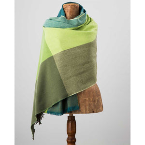 County Wicklow Shawl: Green