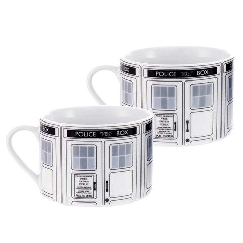 Doctor Who: TARDIS Teacup Set