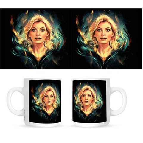 Doctor Who: Thirteenth Doctor Alice X Zhang Mug
