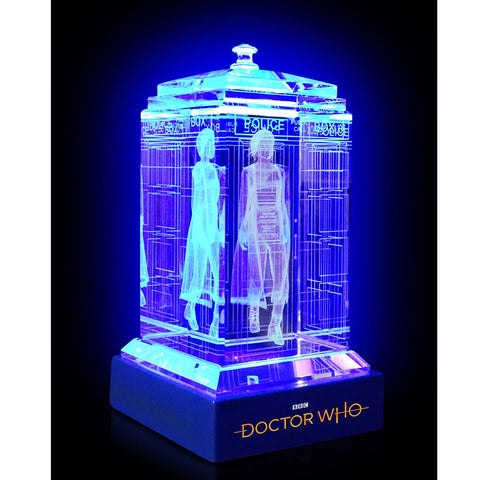 Doctor Who: Thirteenth Doctor Crystal TARDIS