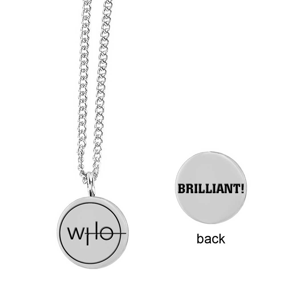 Doctor Who: Thirteenth Doctor Insignia Pendant