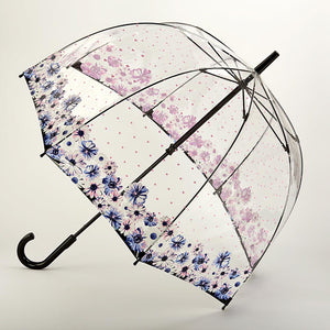 Hearts and Flowers Dome Umbrella