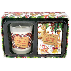Holiday Treats Candle and Soap Gift Set